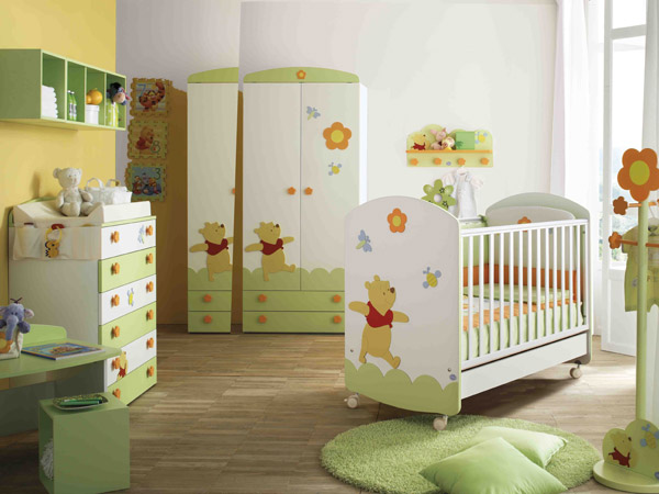 Winnie The Pooh Paired With Baby Rooms By Doimo Cityline