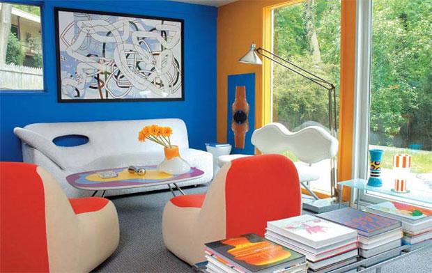 Rashid's living room