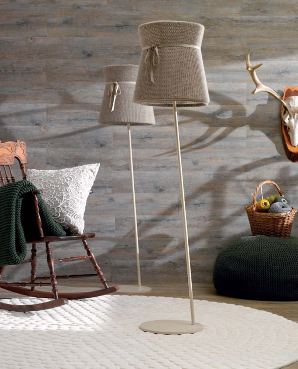 Tricot floor lamp
