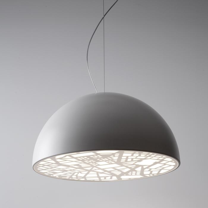 White Street Lamp