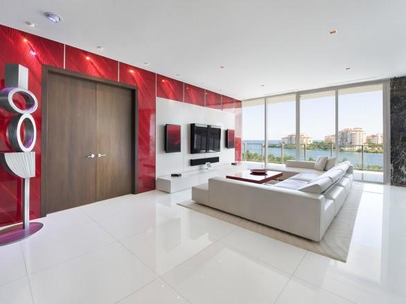 Miami Beach in Florida Apartment
