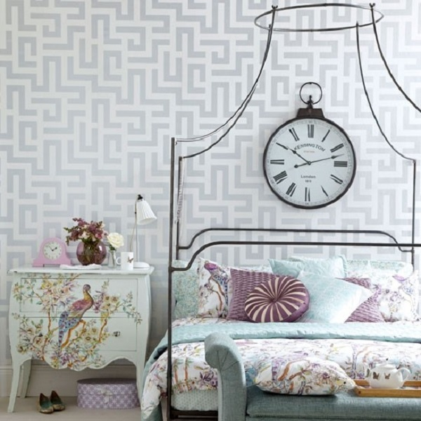 vintage style bedroom