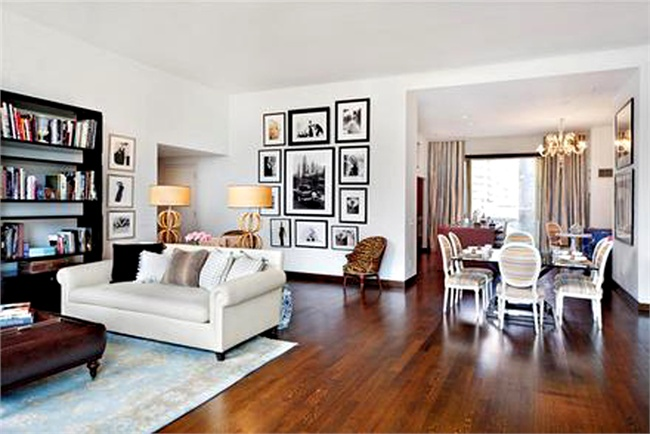 Jennifer Aniston House - Liv Room