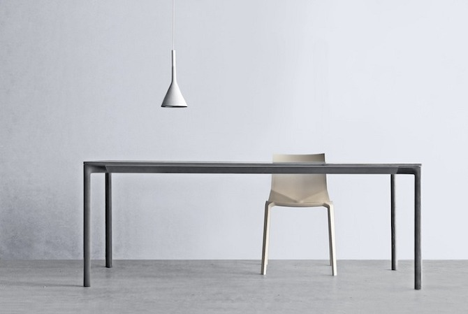 Kristalia cement design table