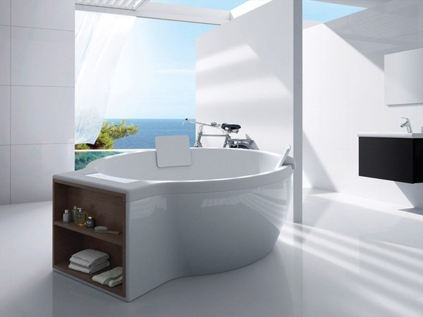 Round bathtub Circular Roca Model
