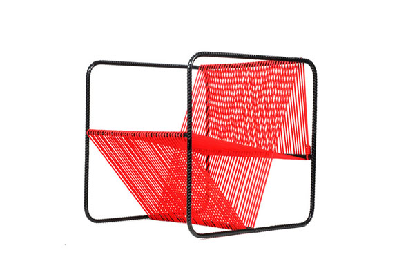 Chair designed by Matias Ruiz Melbran