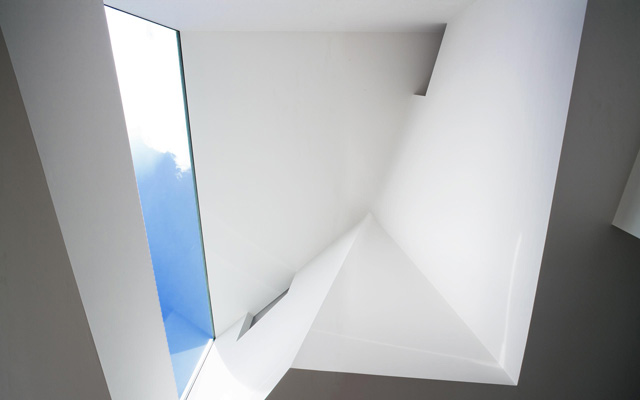 The Narrow House Interior