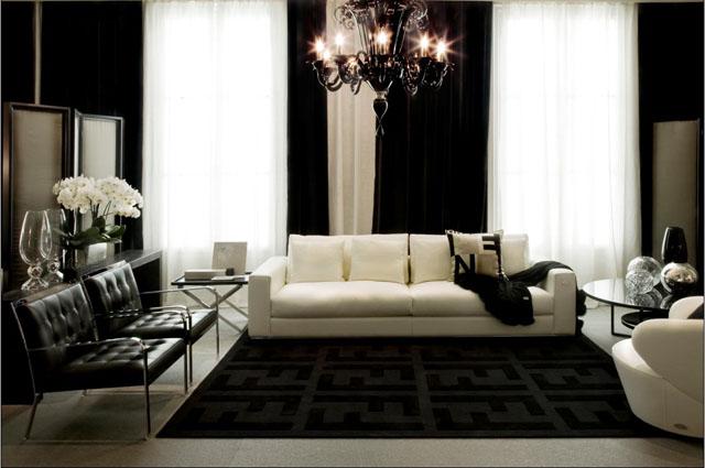 Fendi Casa living room