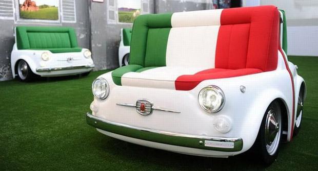 Fiat 500 sofa