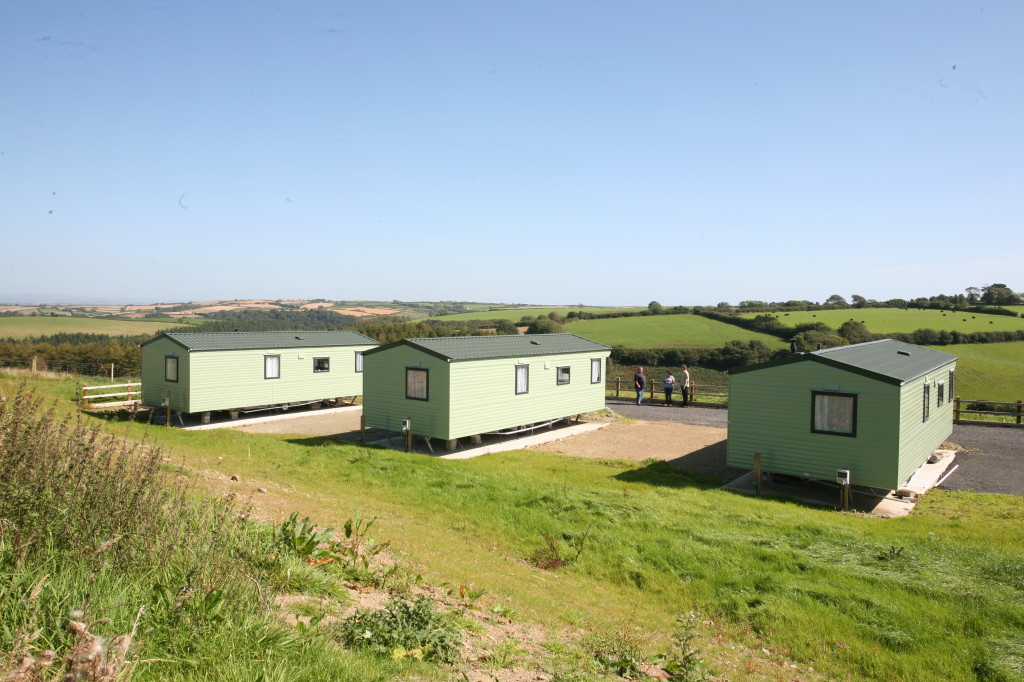 Polborder Farm is a small static caravan site near Looe in Cornwall, with just three static caravans that are rented out to holidaymakers