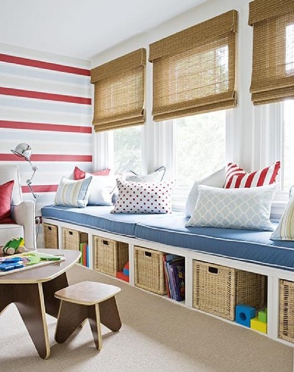 Kids room fabric