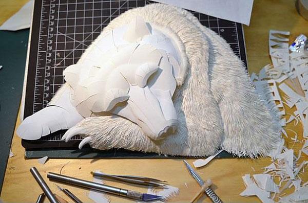 Calvin Nicholls - Paper Sculptures