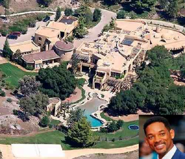 Celebrity Houses Part - 31: Will Smith